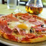 Pizza maison au restaurant l'Oliver au Havre