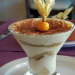 Tiramisu au restaurant l'Olivier au Havre