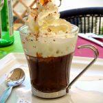 Fondant Cappuccino dessert au restaurant l'Olivier au Havre