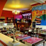 La salle du restaurant l'Olivier au Havre