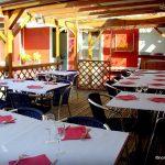 La terrasse du restaurant l'Olivier au Havre