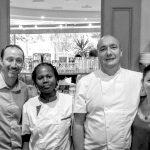L'équipe du restaurant Nuage dans la Tasse