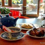 Thé et patisserie à l'orangeraie au Havre