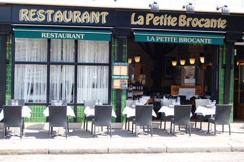 la petite brocante restaurant au havre normandie resto. Black Bedroom Furniture Sets. Home Design Ideas