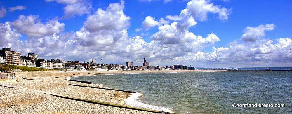 Restaurant la plage du Havre
