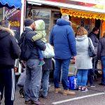 Vente de poulet rôti sur les marchés