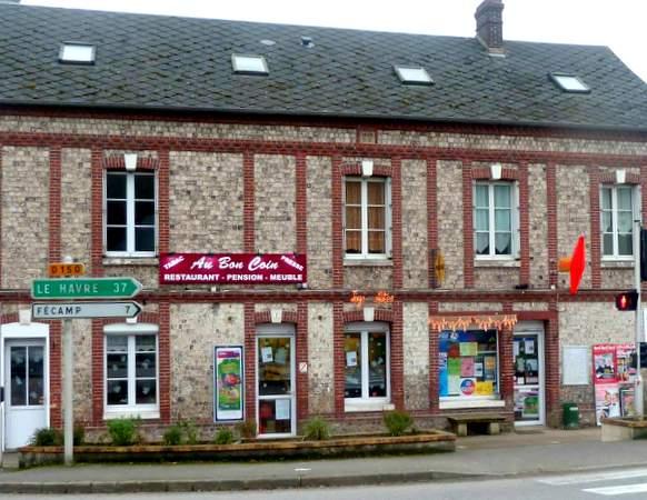 Au Bon Coin Restaurant Pension A Colleville Normandie Resto