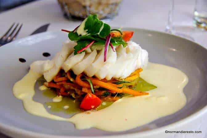 Le cours d 39 eau restaurant traditionnel etretat normandie resto - Cuisine normande traditionnelle ...