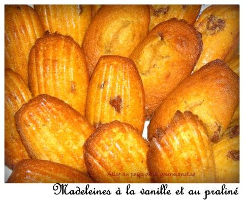 recette des madeleines Restaurant
