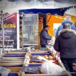 Poulets rôtis sur les marchés