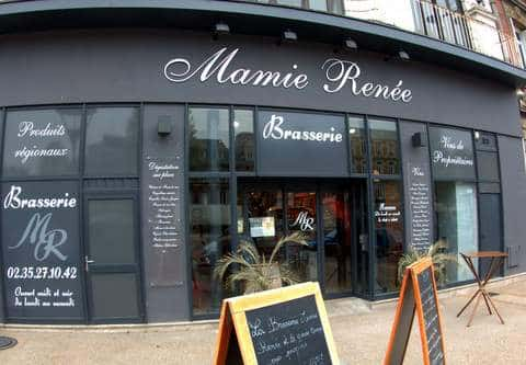 mamie ren e restaurant f camp autour du vin normandie resto. Black Bedroom Furniture Sets. Home Design Ideas