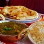 Poulet sagwala au restaurant indien