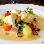 Poisson à la crème au Havre, cuisine normande