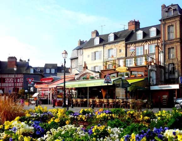 L 39 alcyone brasserie restaurant r gionale honfleur normandie resto - Le bistrot du port honfleur ...