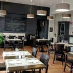 La salle du restaurant le 17 au Havre
