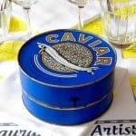 Caviar au restaurant