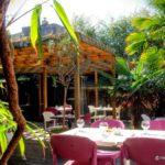 terrasse et jardin de restaurant