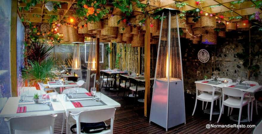 restaurant au jardin Map
