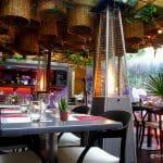 Restaurant et jardin