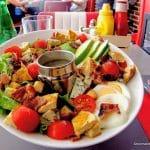 Salade Cobb au Fifty's au Havre