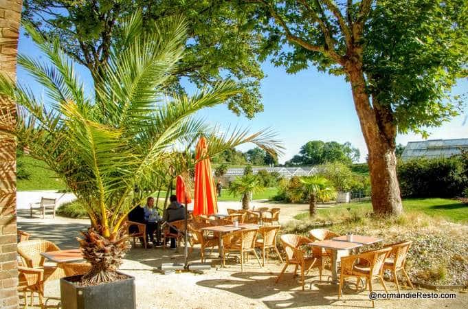L 39 orangeraie aux jardins suspendus au havre normandieresto for Jardins suspendus le havre horaires