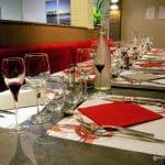 repas en groupe au restaurant au Havre