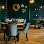 La salle du restaurant Margote au Havre