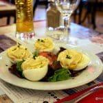 Les oeufs mayonnaise au bistrot du Funiculaire au Havre