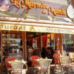 Terrasse de restaurant à Saint François au Havre