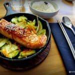 poisson grillé façon coréenne au restaurant KIMCHI au Havre