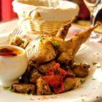 Caille sauce chorizo en plat du jour au Havre