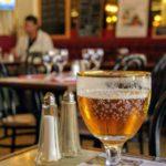 Bière pression au bar le Funiculaire au Havre