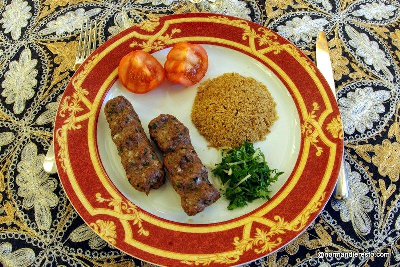 Recette Kafta grillés