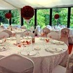 Salle de banquet et mariage