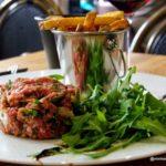 Tartare à l'Italienne au restaurant Auguste au Havre