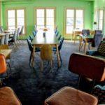 La salle de repas en groupe au restaurant M. Auguste au Havfre