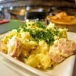 Salade alsacienne au Bistrot St Amour au Havre