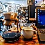 Coffee shop au Havre, café cosy et wifi.