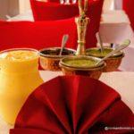 Cuisine indienne au Havre, au restaurant Le Palais de l'inde.
