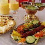 Seekh Habab : gigot d'agneau haché en brochette au restaurant indien le Palais de l'Inde au Havre