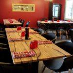 Restaurant Juste à Coté à St Romain de Colbosc, la salle à manger du restaurant