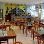 La salle de l'Hotel restaurant Normand à Yport