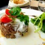 salade de joue de bœuf tiede, tomates semi confites au restaurant normand au Havre