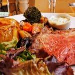 Le plat du jour : Rôti de bœuf et légumes du moment