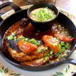Suprême de poulet sauce américaine au Havre