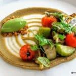 Déclinaison légumes d'été, au restaurant la Tablée au Havre