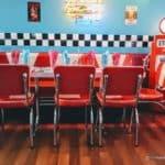 La déco Vintage American Diner du Denver au Havre
