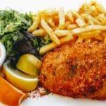 Fish and chips à la plage du Havre