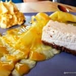 cheesecake carpaccio ananas