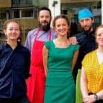 L'équipe d u restaurant l'Atelier au Havre